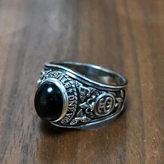 ステューシー(STUSSY)のSTUSSY ステューシー シルバー カレッジリング 指輪(リング(指輪))