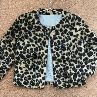 シェル(Cher)の新品タグ付き☆cher bianca's closetフェイクファーコート(毛皮/ファーコート)