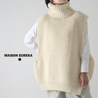 エムエムシックス(MM6)のメゾンエウレカ MAISON EUREKA ニットベスト タートル(ニット/セーター)