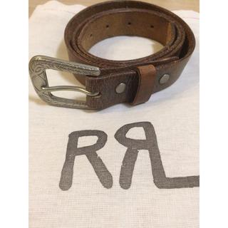 ダブルアールエル(RRL)のRRL ベルト サイズ32(ベルト)