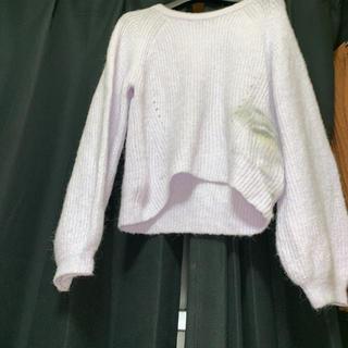 アリシアアダムスアルパカ(alicia adams alpaca)のニット セーター パープル(ニット/セーター)