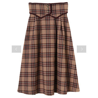 メゾンドフルール(Maison de FLEUR)のaison de FLEUR Petite Robe canone ♡ スカート(ひざ丈スカート)