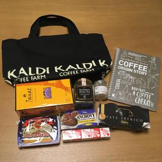 カルディ(KALDI)のカルディ 食品詰め合わせ トートバッグ(その他)
