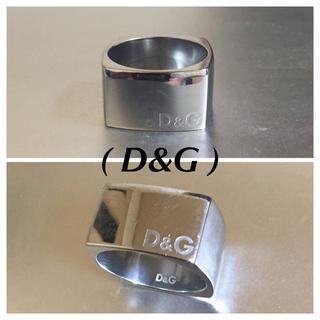 ドルチェアンドガッバーナ(DOLCE&GABBANA)のD&Gドルチェ&ガッバーナ スクエアリング(リング(指輪))
