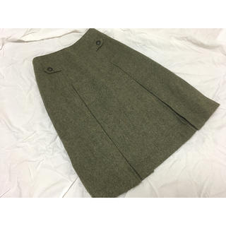 サンタモニカ(Santa Monica)のウール スカート(ひざ丈スカート)