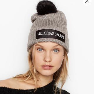 ヴィクトリアズシークレット(Victoria's Secret)のニット キャップ ♡(ニット帽/ビーニー)