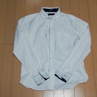 レイジブルー(RAGEBLUE)のRAGE BLUE 白シャツ(Mサイズ)(シャツ)