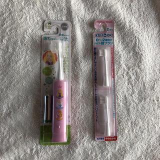 ディズニー(Disney)のDisney baby  赤ちゃんハピカ 電動歯ブラシ★0~2歳用(電動歯ブラシ)