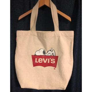 リーバイス(Levi's)のLevis SNOOPYコラボレーショントートバッグ(トートバッグ)