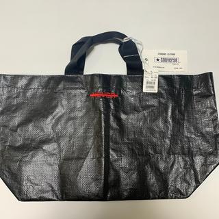 コンバース(CONVERSE)の★CONVERSE©️ビニールバック/ブラック/新品未使用/定価4,860円(トートバッグ)