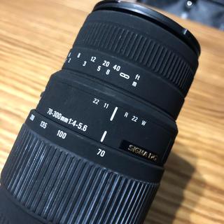 シグマ(SIGMA)のCanonマウント SIGMA 望遠レンズ(レンズ(ズーム))
