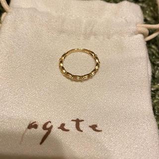 アガット(agete)のアガット ドレスリング ピンキーリング (リング(指輪))
