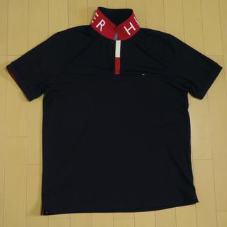トミーヒルフィガー(TOMMY HILFIGER)のポロシャツ メンズ TOMMYHILFIGER (LL)ゴルフウェア(ウエア)