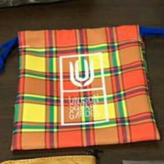 ユニゾンスクエアガーデン(UNISON SQUARE GARDEN)のunisonsquaregardenミニ巾着(ミュージシャン)