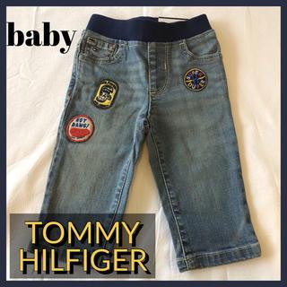 トミーヒルフィガー(TOMMY HILFIGER)の【TOMMY HILFIGER】baby boy 6-9M ワッペン デニム(パンツ)