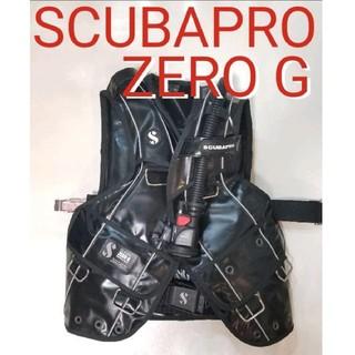 スキューバプロ(SCUBAPRO)の極上現行 スキューバプロ BCD ZERO G SCUBAPRO BCダイビング(マリン/スイミング)
