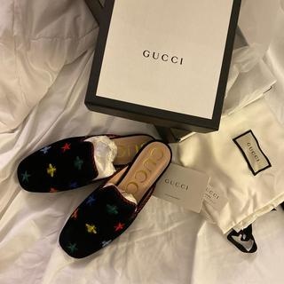 グッチ(Gucci)の新品 GUCCI グッチ スリッポン 靴 刺繍 シューズ ローファー(スリッポン/モカシン)