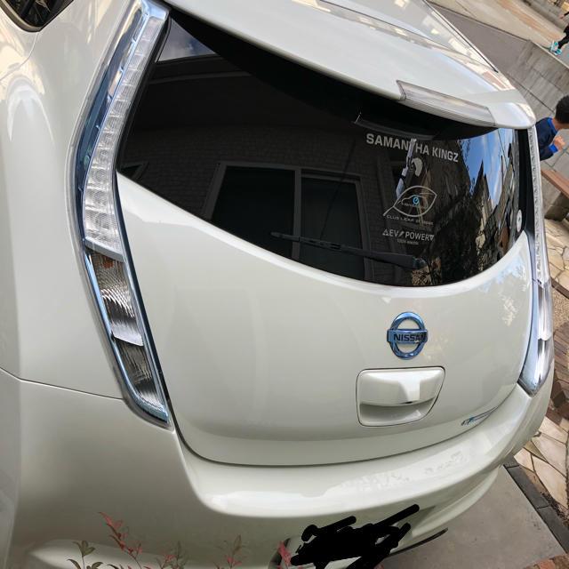 日産(ニッサン)の日産 リーフ X 25年式 子供の送迎用に最適 自動車/バイクの自動車(車体)の商品写真
