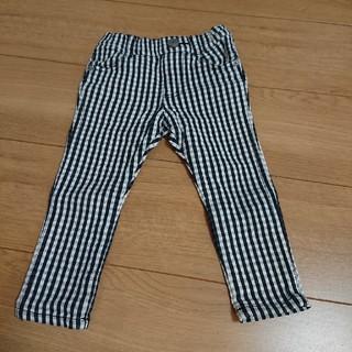 サニーランドスケープ(SunnyLandscape)の長ズボン チェック柄 90cm 男の子 女の子(パンツ/スパッツ)