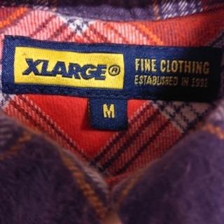 エクストララージ(XLARGE)の週末限定価格‼️XLARGE☆チェックシャツ ネルシャツ(シャツ)