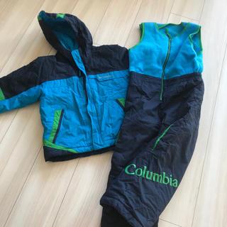 Columbia - 最終値下げ❗️Columbiaスキーウェア⭐︎4.5歳用上下120くらい