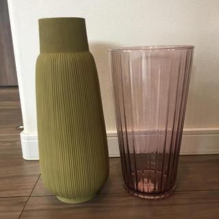 アクタス(ACTUS)の新品 アクタス  ACTUS フラワーベース 花瓶 セラミック グリーン(花瓶)