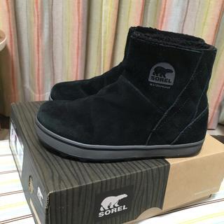 ソレル(SOREL)の☆ソレル グレイシーショートブーツ☆23cm ブラック(ブーツ)