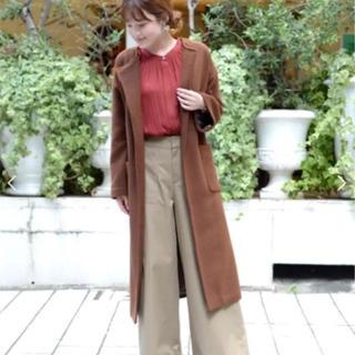 ルクールブラン(le.coeur blanc)のルクールブラン ブラウン コート 36(ロングコート)