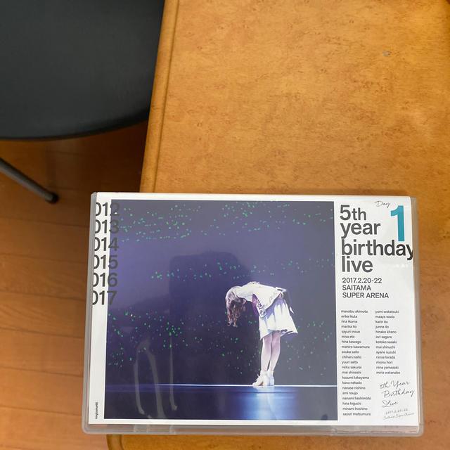 乃木坂46(ノギザカフォーティーシックス)の5th YEAR BIRTHDAY LIVE 2017.2.20-22 SAIT エンタメ/ホビーのDVD/ブルーレイ(ミュージック)の商品写真