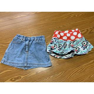 JAM - JAM厚手パンツ&FILAスカート