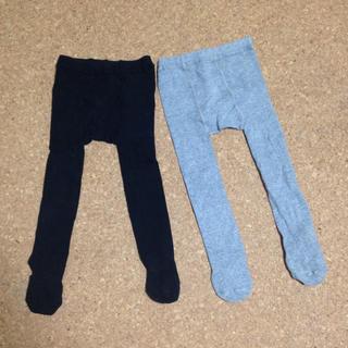ムジルシリョウヒン(MUJI (無印良品))のタイツ 2枚セット(靴下/タイツ)