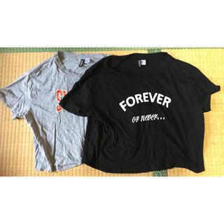 Tシャツ2点セット(Tシャツ(半袖/袖なし))