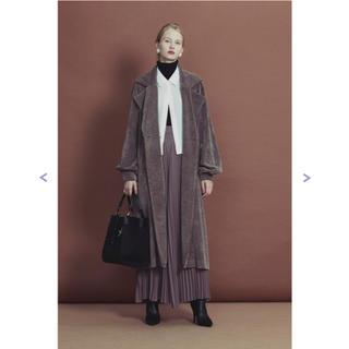 ラベルエチュード(la belle Etude)のラベルエチュード リラックスコーデュロイジャケットコート(ロングコート)