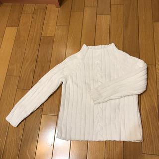 キッズ男女兼用120センチセーター(ニット)