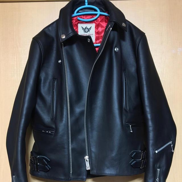 Lewis Leathers(ルイスレザー)のライダースジャケット 666 ほぼ新品未使用 メンズのジャケット/アウター(ライダースジャケット)の商品写真