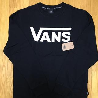 ヴァンズ(VANS)のSALE❗️Lサイズ 新品 バンズ スウェット裏起毛 クルートレーナー(スウェット)