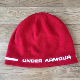 アンダーアーマー(UNDER ARMOUR)のアンダーアーマー ビーニー ニット帽 ニットキャップ(ニット帽/ビーニー)