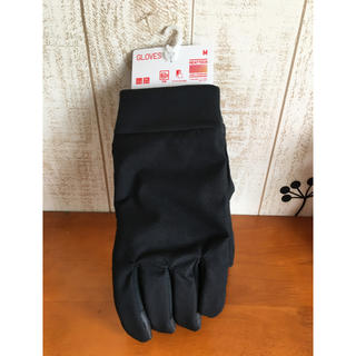 ユニクロ(UNIQLO)のユニクロ ヒートテック手袋 M黒(手袋)