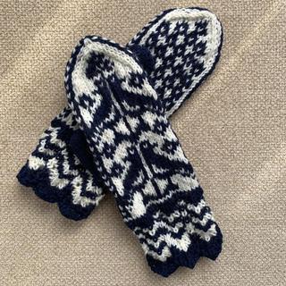 ハンドメイド ミトン 手袋(手袋)