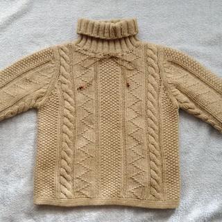 イーストボーイ(EASTBOY)のイーストボーイ(East  Boy )のセーター サイズ9号 ベージュ(ニット/セーター)