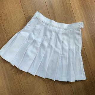 アメリカンアパレル(American Apparel)の<値下げ交渉可>American Apparel テニススカート白 XS(ミニスカート)