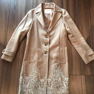 グレースコンチネンタル(GRACE CONTINENTAL)のグレースコンチネンタル ✨刺繍コート(ロングコート)