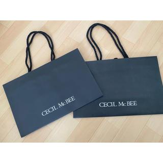 セシルマクビー(CECIL McBEE)のCECIL Mc BEE ショップ袋 紙袋(ショップ袋)