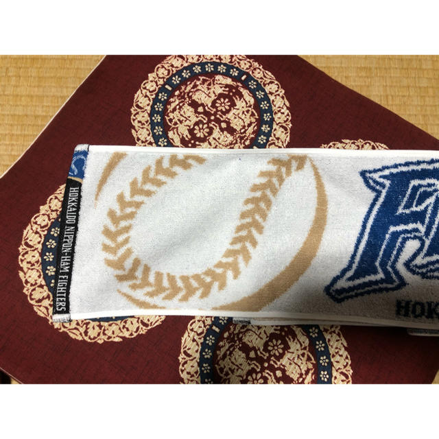 北海道日本ハムファイターズ(ホッカイドウニホンハムファイターズ)のマフラータオル スポーツ/アウトドアの野球(応援グッズ)の商品写真