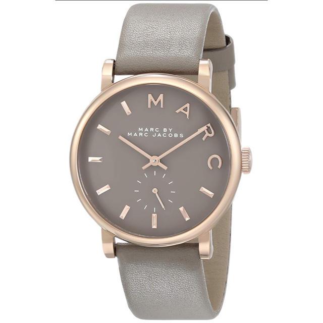 MARC BY MARC JACOBS - マークバイマークジェイコブス  腕時計 MBM1266 ベイカー グレーレザーの通販