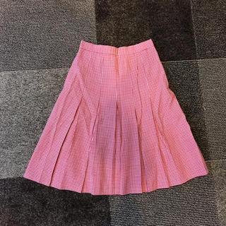 レディーススカート(ひざ丈スカート)