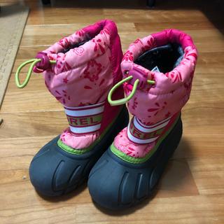 ソレル(SOREL)のソレル sorel 15センチ 女の子 スノーブーツ(ブーツ)