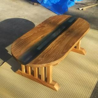 ウッドリバーテーブル ローテーブル センターテーブル(ローテーブル)