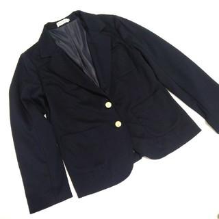 レプシィム(LEPSIM)のレプシィム Lサイズ 濃紺ブレザー ジャケット ネイビー  LEPSIM(テーラードジャケット)