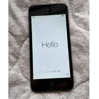 アイポッドタッチ(iPod touch)のipod touch 32GB ブラック 第5世代(ポータブルプレーヤー)